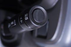Samochodowy wewnętrzny wipers kontrola badyl obrazy royalty free