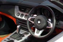 samochodowy wewnętrzny sport Fotografia Royalty Free