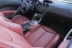 samochodowy wnętrze Obrazy Royalty Free