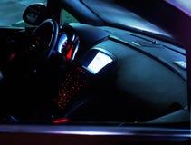 Samochodowy wnętrze Zdjęcie Stock