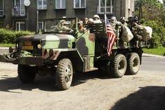 samochodowy wojskowy Zdjęcie Stock
