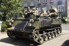 samochodowy wojskowy Zdjęcia Stock