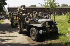 samochodowy wojskowy Obrazy Royalty Free