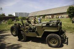samochodowy wojskowy Obraz Stock