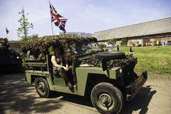 samochodowy wojskowy Fotografia Stock