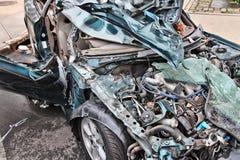 Samochodowy wrak Fotografia Stock