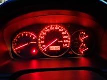 Samochodowy wymiernik zdjęcia stock