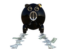 samochodowy zakupu pieniądze save niektóre Zdjęcia Royalty Free