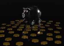 samochodowy zakupu pieniądze save niektóre Zdjęcie Stock