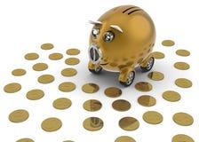 samochodowy zakupu pieniądze save niektóre Zdjęcie Royalty Free