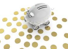 samochodowy zakupu pieniądze save niektóre Obraz Royalty Free