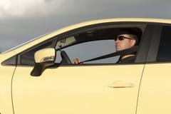 Samochodowy Zbawczy pasek Fotografia Royalty Free