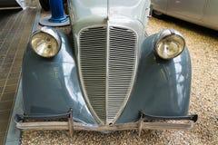 Samochodowy Zbrojovka Z-5 Ekspresowy od roku 1936 stojaków w Krajowym technicznym muzeum Fotografia Stock