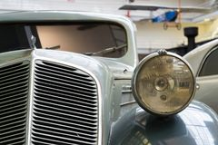 Samochodowy Zbrojovka Z-5 Ekspresowy od roku 1936 stojaków w Krajowym technicznym muzeum Zdjęcia Stock