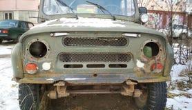 Samochodowy zderzak stary samochód fotografia royalty free