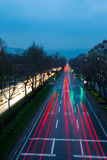 Samochodu światło Zdjęcie Royalty Free