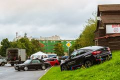 Samochodu BMW serie, Niemiecki Bawarski wytwórca Zdjęcie Stock