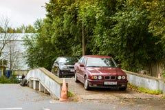 Samochodu BMW serie, Niemiecki Bawarski wytwórca Fotografia Stock