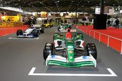 samochodu De F1 siatka l stary Lyon salon Fotografia Royalty Free