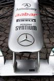 samochodu f1 gp Mercedes Petronas rasa Zdjęcie Stock