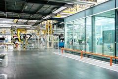 Samochodu fabryki linia produkcyjna Obraz Stock
