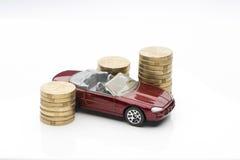 Samochodu finanse Zdjęcie Royalty Free