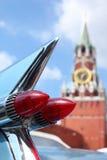 samochodu formularzowa świateł tyły rakieta Zdjęcia Stock