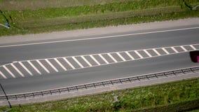 Samochodu jeżdżenie na drodze zbiory