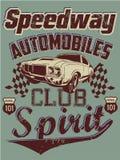 Samochodu klub royalty ilustracja