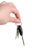 samochodu klucz Obraz Stock