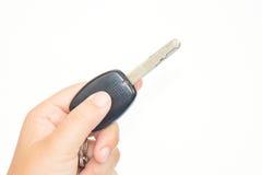 samochodu klucz w ręce Obraz Stock