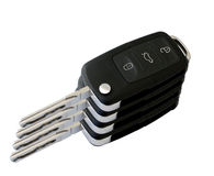 Samochodu klucza wierza Zdjęcia Stock