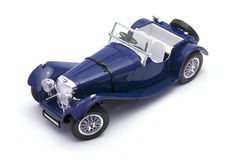 samochodu modela skala Zdjęcia Royalty Free