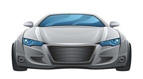 Samochodu przód ilustracja wektor