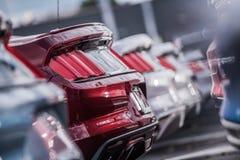 Samochodu przemysłu handlowa pojęcie zdjęcie royalty free