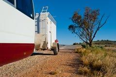 samochodu pustyni sporta przyczepa Fotografia Stock