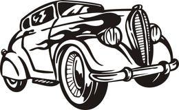 samochodu rocznik ilustracji