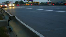 Samochodu ruchu drogi światło zbiory wideo