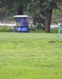 samochodu sądu golf Obraz Stock