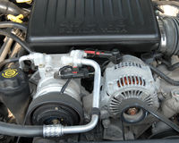 Samochodu silnik Zdjęcie Stock
