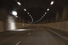 samochodu tunel Obrazy Stock