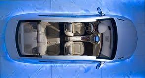 samochodu wnętrze Fotografia Royalty Free