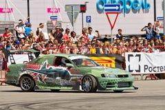Samochodu wojskowego drużynowi round stylizowani tematy Obraz Royalty Free