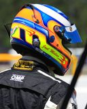 Samochodu Wyścigowego kierowca Zdjęcia Royalty Free