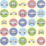 Samochodu wzór Zdjęcia Royalty Free