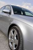 samochodu zakończenia srebro Zdjęcia Royalty Free
