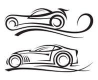 samochody Royalty Ilustracja