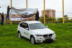 Samochody BMW 5, 3, 6, X3, X5, X6 serie, niemiec Zdjęcia Royalty Free