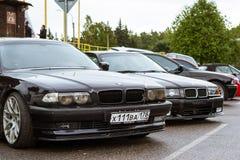 Samochody BMW 5, 3, 6, X3, X5, X6 serie, niemiec Obraz Stock