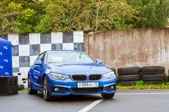 Samochody BMW 5, 3, 6, X3, X5, X6 serie, niemiec Obrazy Stock